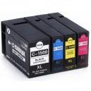Tusze PGI-1500XL CMYK do Canon Maxify MB2050 MB2150 MB2350 MB2750