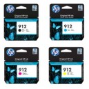 Tusz HP 912 oryginalny do HP Officejet Pro 8010, HP Officejet Pro 8013, HP Officejet Pro 8020 HP Officejet Pro 8023 (1KR64B)