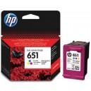 Tusz HP 651 C2P11AE kolor do HP OfficeJet 202 202c, HP DeskJet Ink Advantage 5575 5645